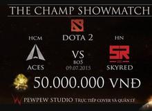 DOTA 2: Cộng đồng nói gì về trận ShowMatch lịch sử The Champ?
