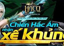Hơn 10.000 game thủ Hắc Ám Chi Quang đua top rinh xế khủng