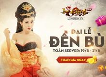 Long Môn Tiêu Cục đền bù game thủ, tặng quà toàn server
