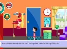 Giáo dục kỹ năng sống cho trẻ bằng game Việt