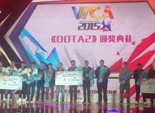 Nhìn lại giải đấu DOTA 2 WCA 2015: Ngày về của nhà vua