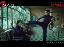 Lộ cảnh Lý Tiểu Long bái Diệp Vấn làm sư phụ trong trailer mới