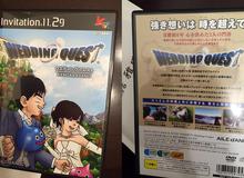 """Thiệp mời đám cưới """"siêu độc đáo"""" của cặp đôi game thủ Nhật Bản"""