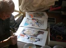 Thương tiếc sự ra đi của người họa sĩ cụt tay vẫn vẽ truyện tranh
