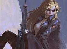 Ngắm những bức họa tuyệt đẹp về game Konami