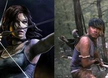 """Chết cười với copslay Tomb Raider phiên bản """"đực rựa"""""""