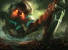 Liên Minh Huyền Thoại có bug mới cho tướng Nautilus kéo cả team địch