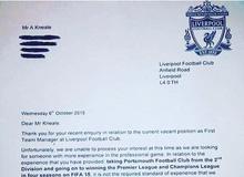 """""""Chết cười"""" với game thủ pro FIFA 15 xin làm HLV của Liverpool"""
