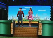 Xem Mario cùng công chúa đi thi nhảy trên truyền hình