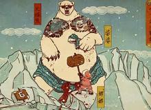 Thưởng thức tranh game phong cách Nhật cổ tuyệt đẹp