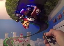 Ngắm Mario đu tường trong căn phòng game cực độc