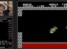 Xuất hiện kỉ lục chơi Mario nhanh nhất thế giới mới