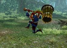 """[Clip] Vũ khí """"đại chùy"""" cực lợi hại trong game khủng Monster Hunter Online"""