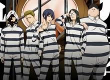 Phim hoạt hình Prison School hé lộ hình ảnh dàn nhân vật chính
