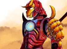 Độc đáo nhân vật game và phim theo phong cách samurai Nhật