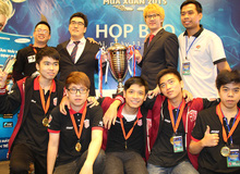 4 đội tuyển Liên Minh Huyền Thoại Việt Nam được sở Văn hóa - Thể thao vinh danh