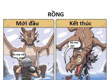 Lúc mới chơi và kết thúc Skyrim khác nhau như thế nào?