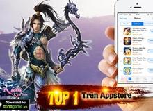Game kiếm hiệp tình duyên Cổ Kiếm Kỳ Đàm lên top 1 AppStore