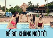Muôn hình vạn trạng kiểu đi bơi của game thủ Việt