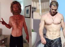 Fan sốc với thân hình tả tơi của Thor - Chris Hemsworth