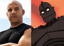 Vin Diesel tiết lộ về dự án phim hoạt hình robot mới của Warner Bros.