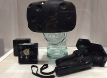 Hình ảnh đầu tiên về kính thực tế ảo Vive của Valve
