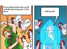 Lúc mới chơi và kết thúc Zelda khác nhau như thế nào?