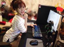 Thêm 1 hot girl CCTalk lấn sân stream game online