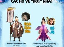 """[Infographic] Dàn Hộ vệ """"không đụng hàng"""" của Thục Sơn Vô Song"""