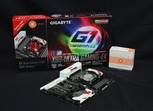 Cận cảnh GIGABYTE X99-Ultra Gaming EK - Bo mạch chủ hàng khủng tích hợp tản nước tại Việt Nam