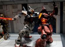 Cực ấn tượng với trận chiến Gundam chân thực nhất quả đất