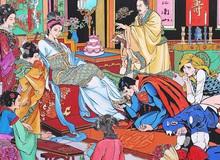 Độc đáo bộ tranh nghệ thuật khiến Superman lạc vào chốn tiên cảnh phương Đông