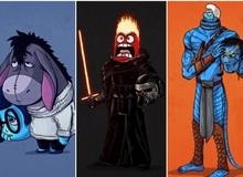 Hài hước khi các nhân vật phim hoạt hình đổi chỗ cho nhau