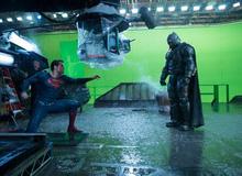 Sự khác biệt giữa cảnh quay trước và sau kỹ xảo của Batman v Superman