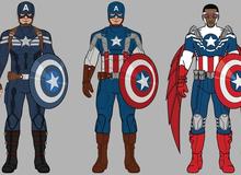 27 bộ trang phục đáng nhớ nhất trong lịch sử của Captain America