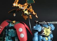 """Thèm """"nhỏ dãi"""" với mô hình Pokemon kết hợp Gundam"""