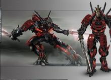 Phim Transformers 5 tiết lộ hình ảnh của robot samura đầu tiên