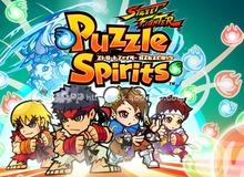 Street Fighter Puzzle Spirits - Khi huyền thoại đối kháng kết hợp xếp hình chưởng