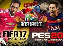 PES vs FIFA - Đâu mới là tựa game bóng đá đáng chơi nhất năm 2017?