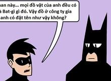 Truyện tranh hài - Cách mà Batman đặt tên cho các món đồ của mình