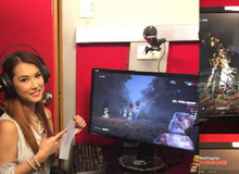 Maria Ozawa bất ngờ đăng ảnh đang chơi game kinh dị khiến game thủ phát sốt