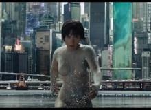 Fan khóc thét vì Scarlett Johanson gợi cảm với áo xuyên thấu trong trailer Ghost in the Shells mới