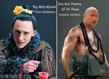 Chết cười khi các diễn viên Hollywood hóa thân vào phim Thủy Hử