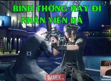 Chết cười cảnh CEO của Square Enix bị đánh sấp mặt trong Final Fantasy XV