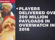 217.817.802 là số xe được game thủ Overwatch đẩy về đích trong năm 2016