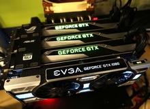 Đừng mua 4 card GTX 1080 dù có tiền, chơi game không dùng được đâu!