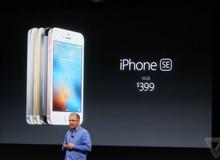 iPhone SE ra mắt: Y hệt 5S, chơi game mạnh ngang 6S, giá từ 8 triệu đồng