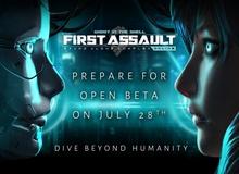 Nóng: Game hot First Assault chuẩn bị mở cửa miễn phí vào tuần sau