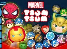 Marvel Tsum Tsum - Mê mẩn với phong cách siêu anh hùng match-3