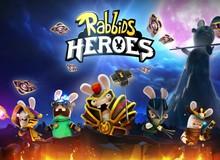 Rabbids Heroes - Game thẻ bài trực tuyến đầy cá tính trên mobile